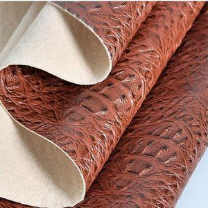 Crocodile Faux Leather Fabric Synthetic Sewing New